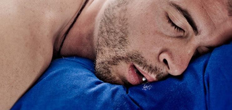 Во время сна давлюсь слюной