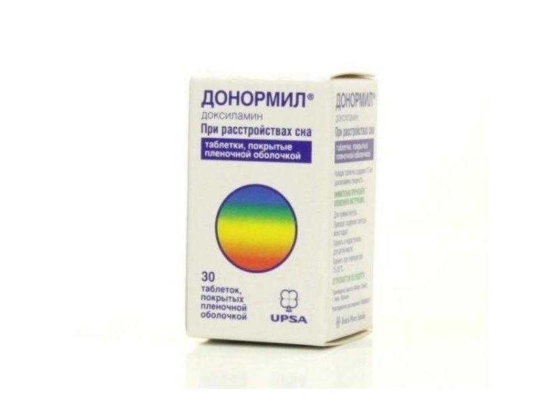 Донормил: инструкция по применению что за препарат